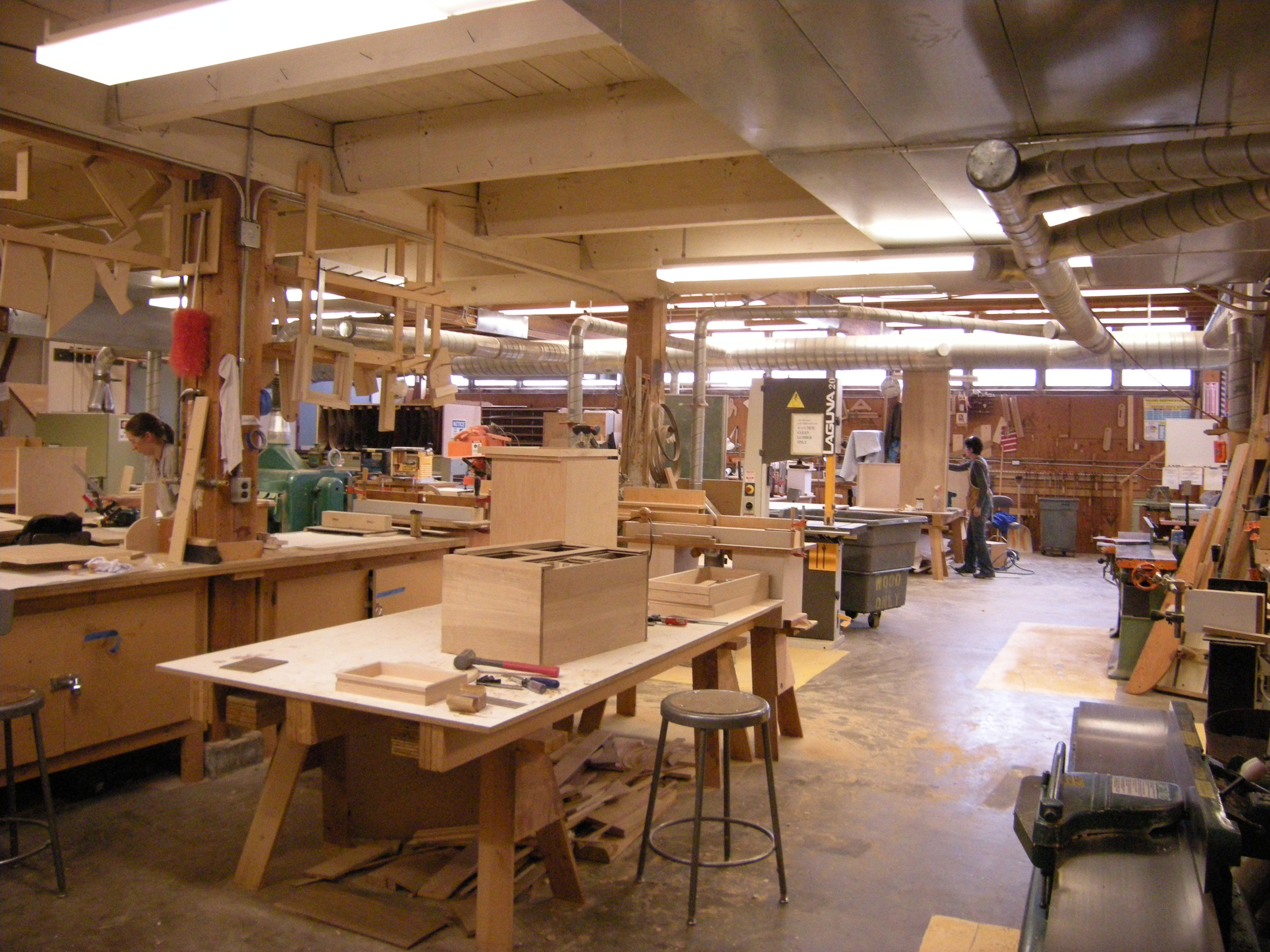 FileSCCC Wood Construction Facility Cabinetry Shop 02