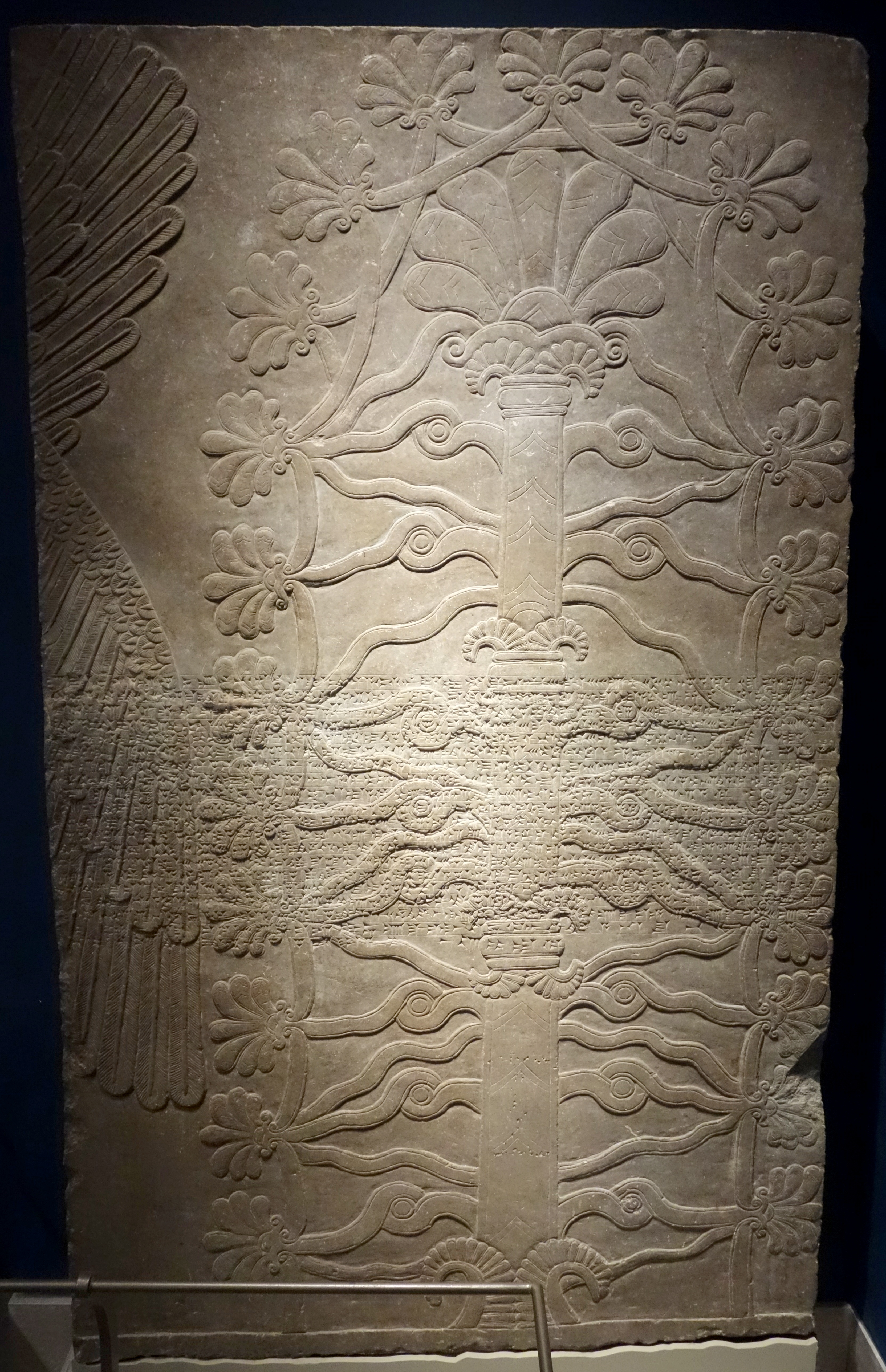 the assyrian sacred tree essay Ancient pagan and modern christian symbolism with an essay on baal worship, on the assyrian sacred grove and other allied symbols by john newton.