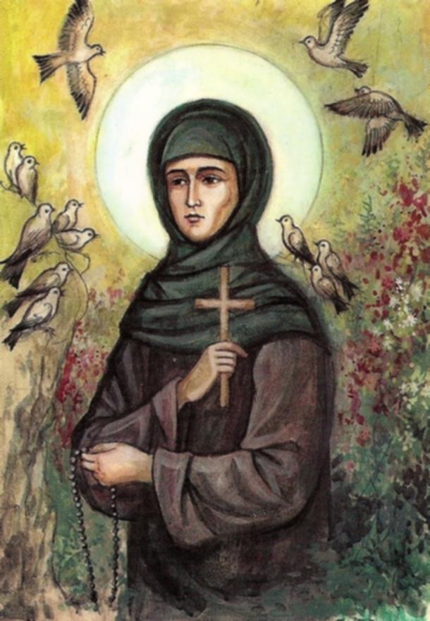 Sfanta Teodora de la Sihla - VIDEO - despre fostul ei sot, vietuirea in pestera si rugaciune
