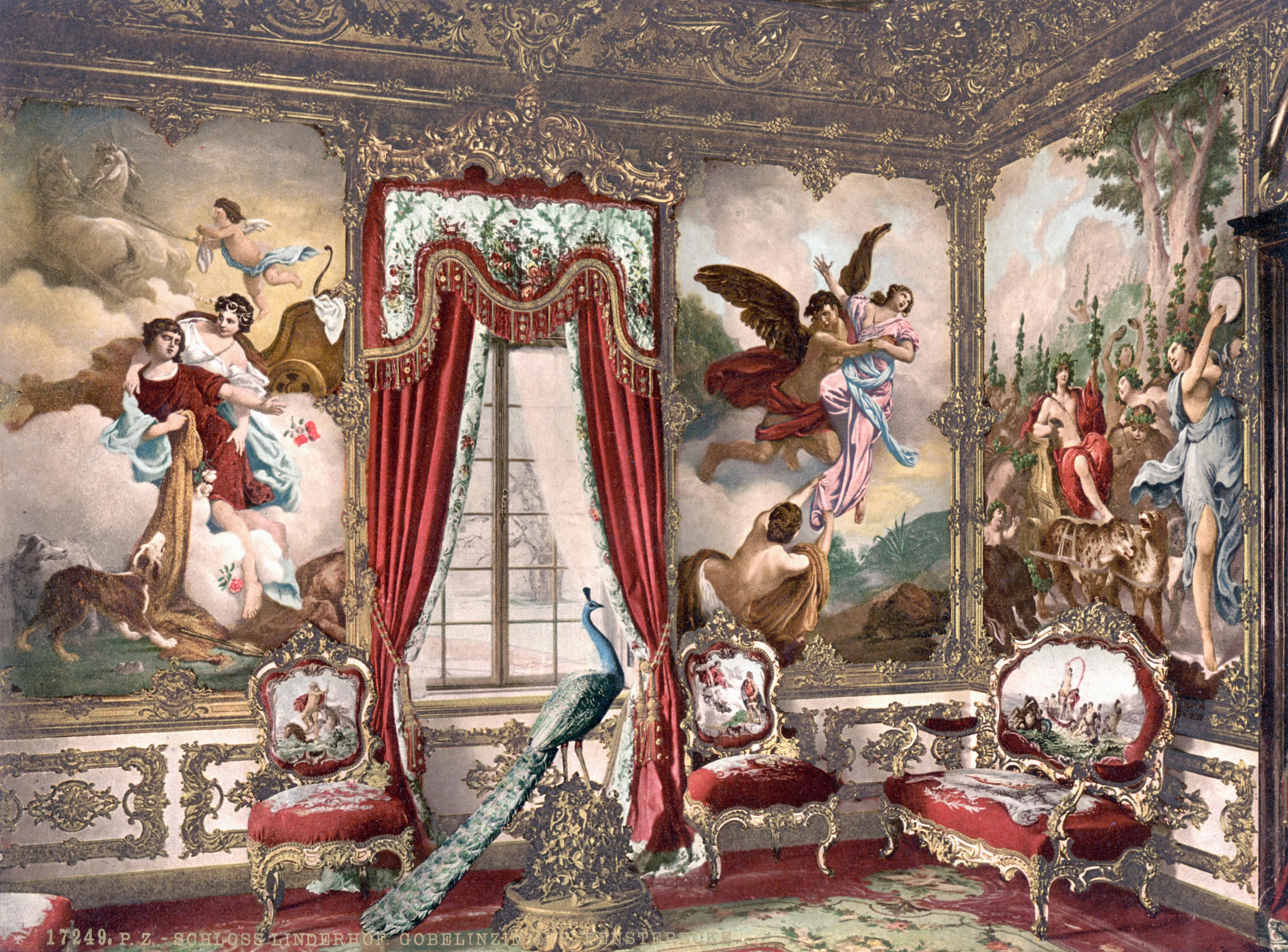 Действие происходит в мастерской по производству гобеленов.  В красавицу Марию Мануэлу влюбляется аристократ Гонсало.