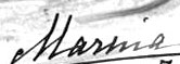 Signature of Princess Marina of Greece and Denmark, Duchess of Kent.jpg