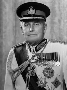 Denis Blundell 12th Governor-General of New Zealand from 1972 to 1977