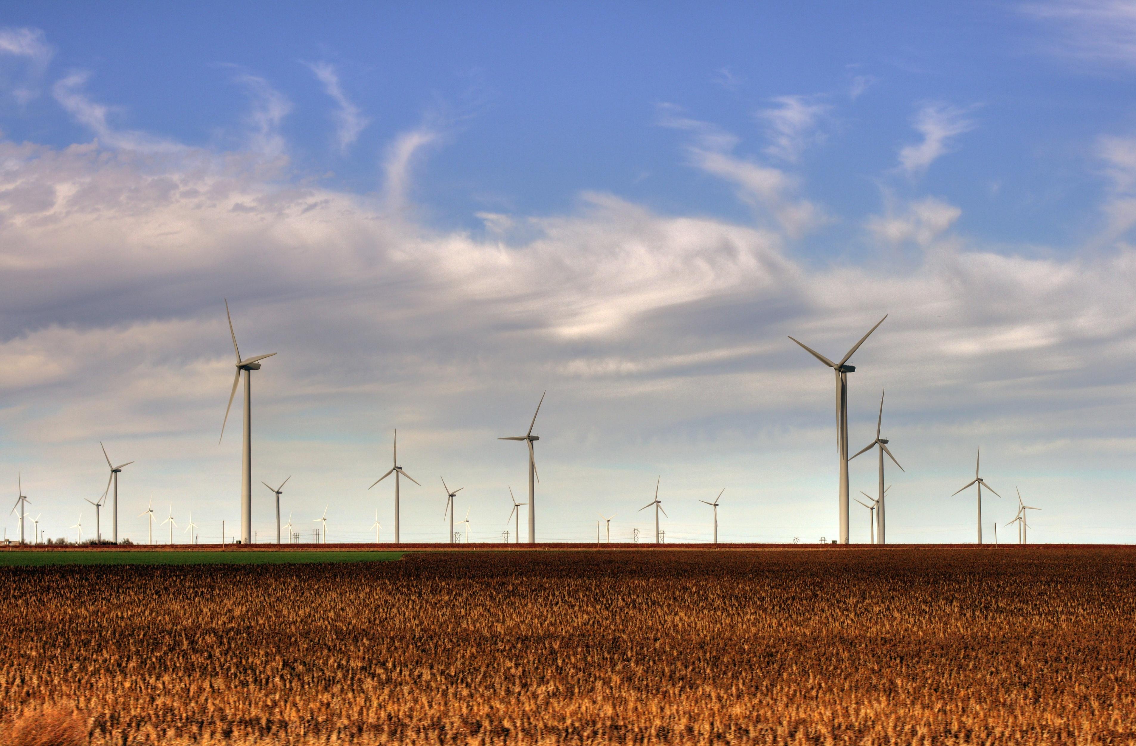 Iowa Wind Farms The Smoky Hills Wind Farm in