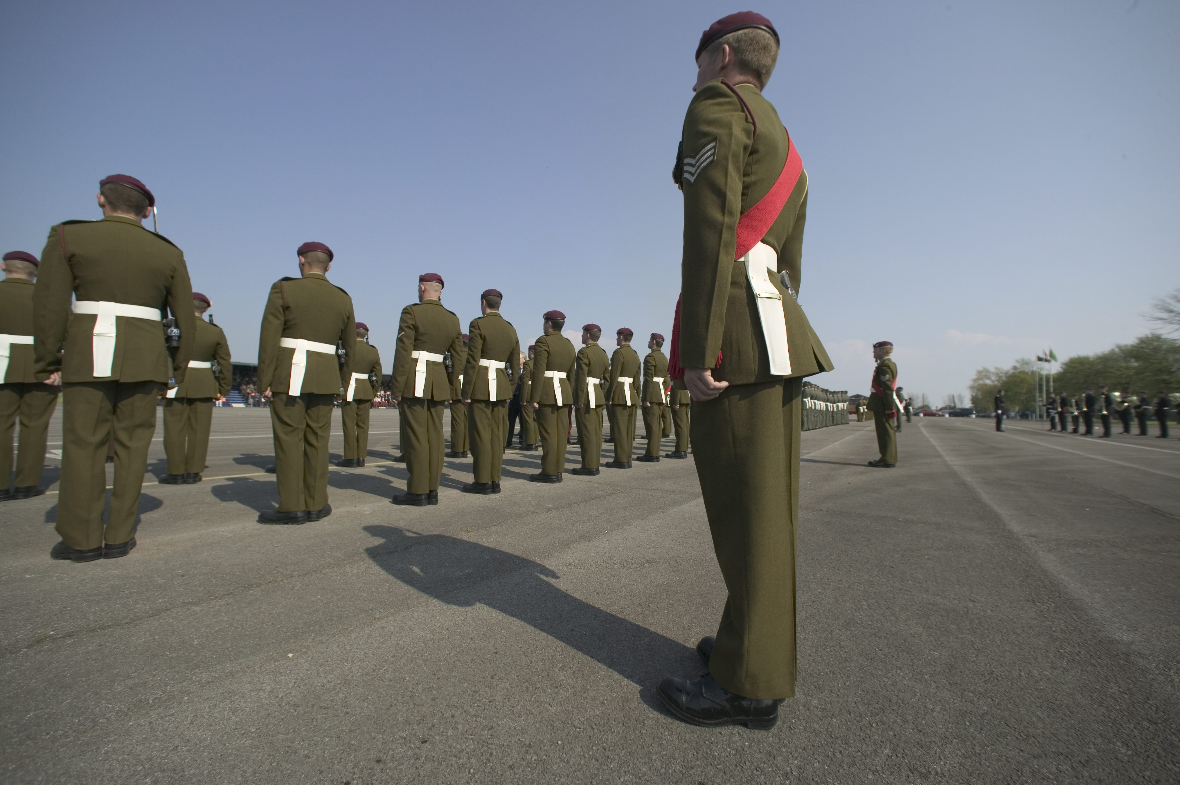File Special Forces Support Group Inaugural Parade At Raf