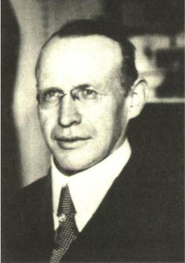 Bernhard Stempfle (um 1928).