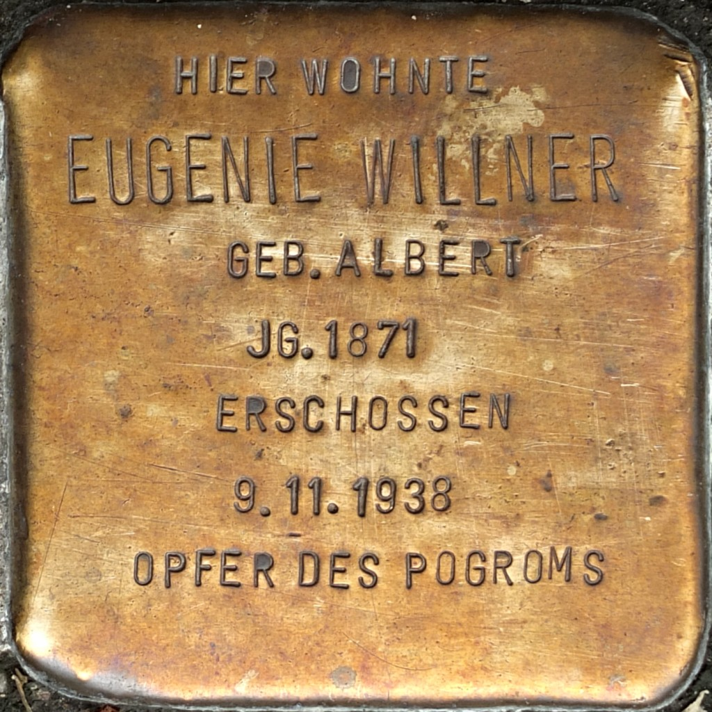 Stolperstein Eugenie Willner Hilden.jpg