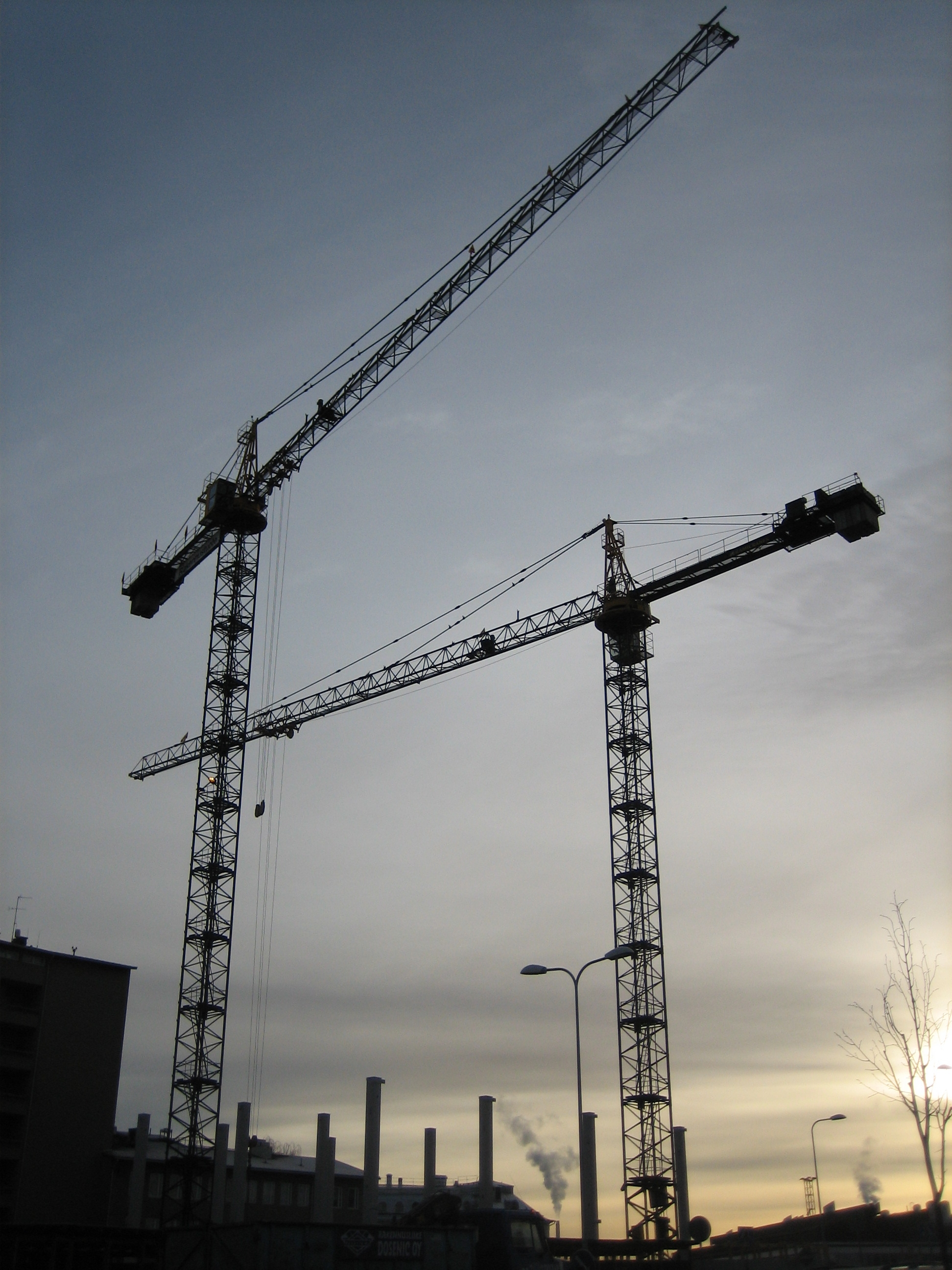 Tower Crane Pictures : File tower cranes g