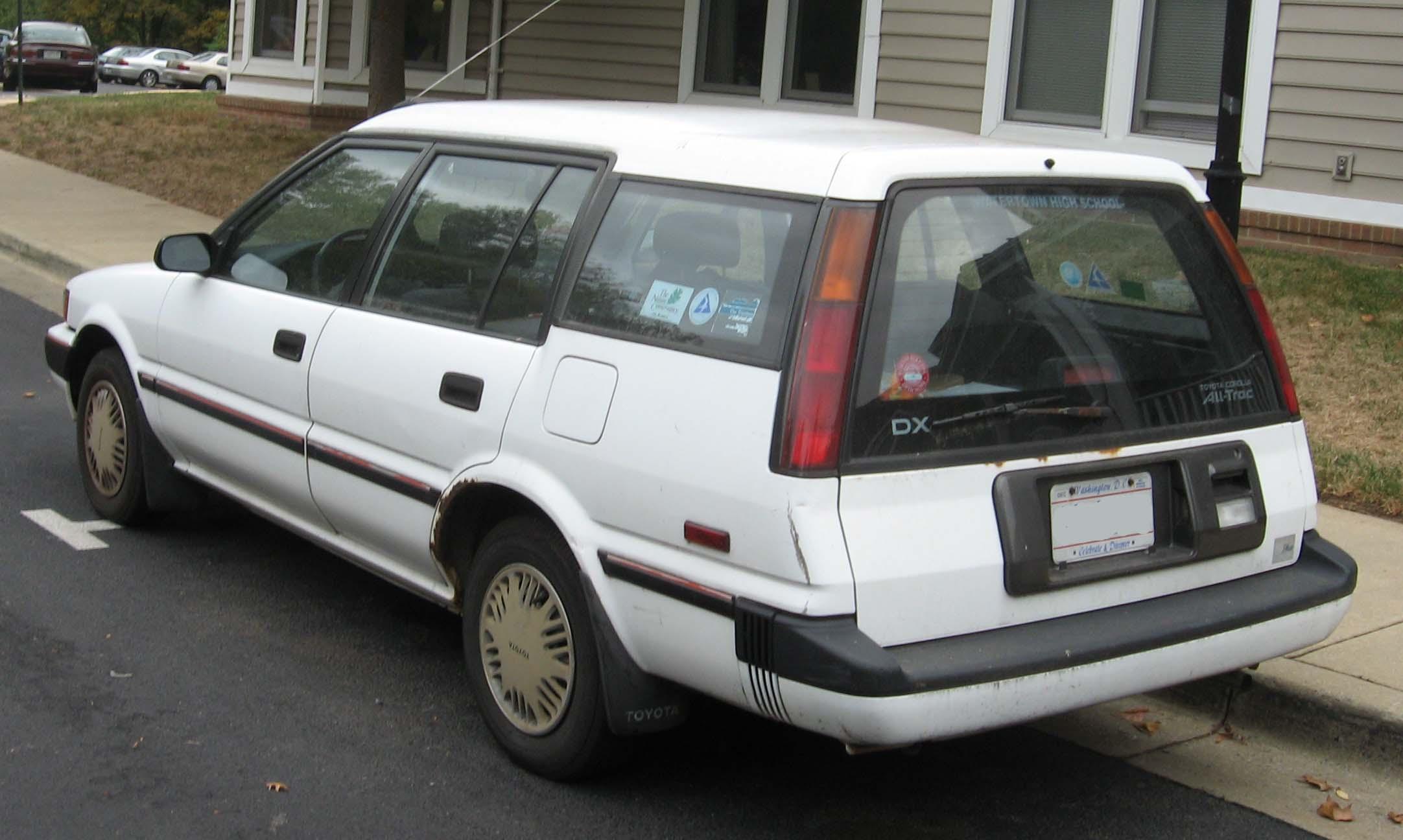 1987 toyota tercel wagon 4wd autos post. Black Bedroom Furniture Sets. Home Design Ideas