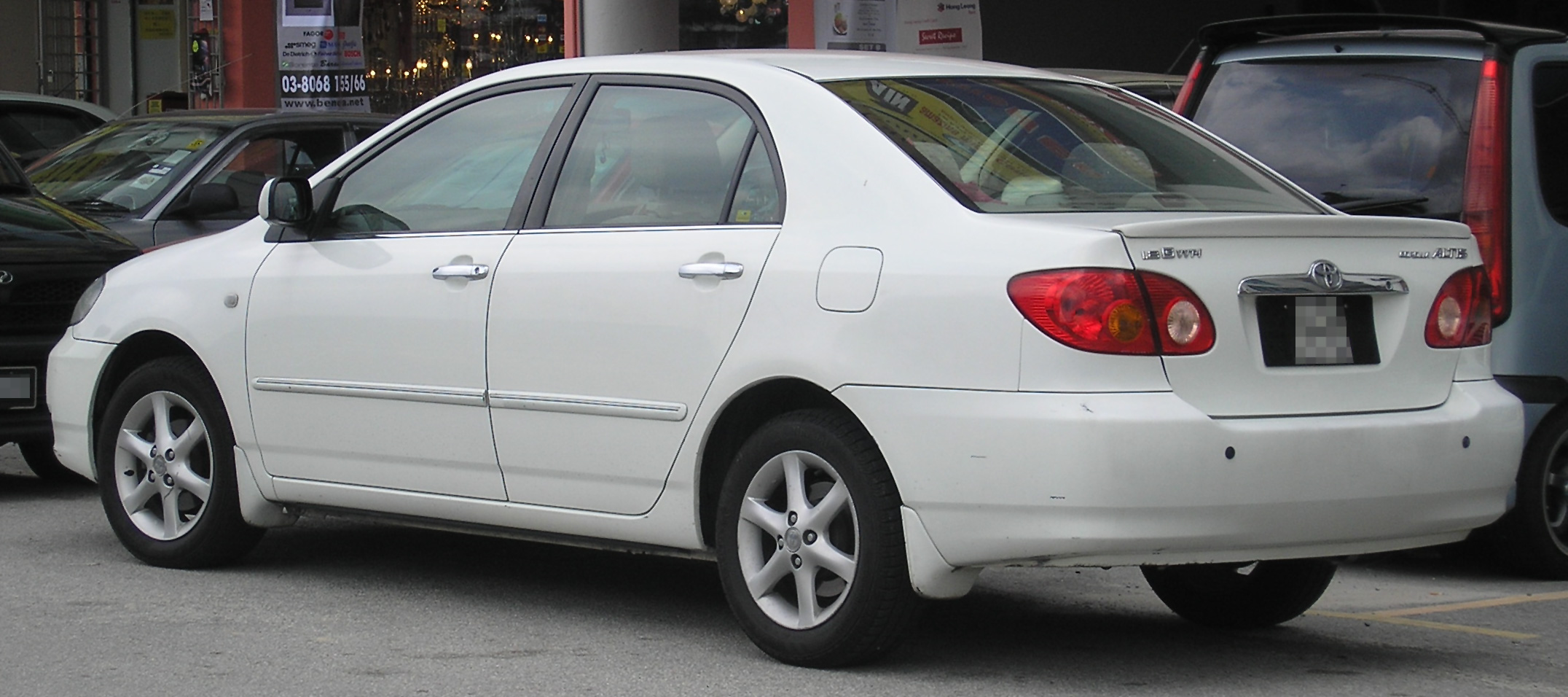 File Toyota Corolla Altis Ninth Generation Rear