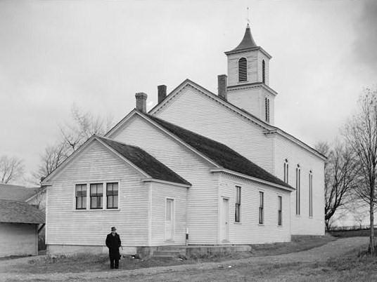 trinity lutheran church and cemetery  stone arabia  new