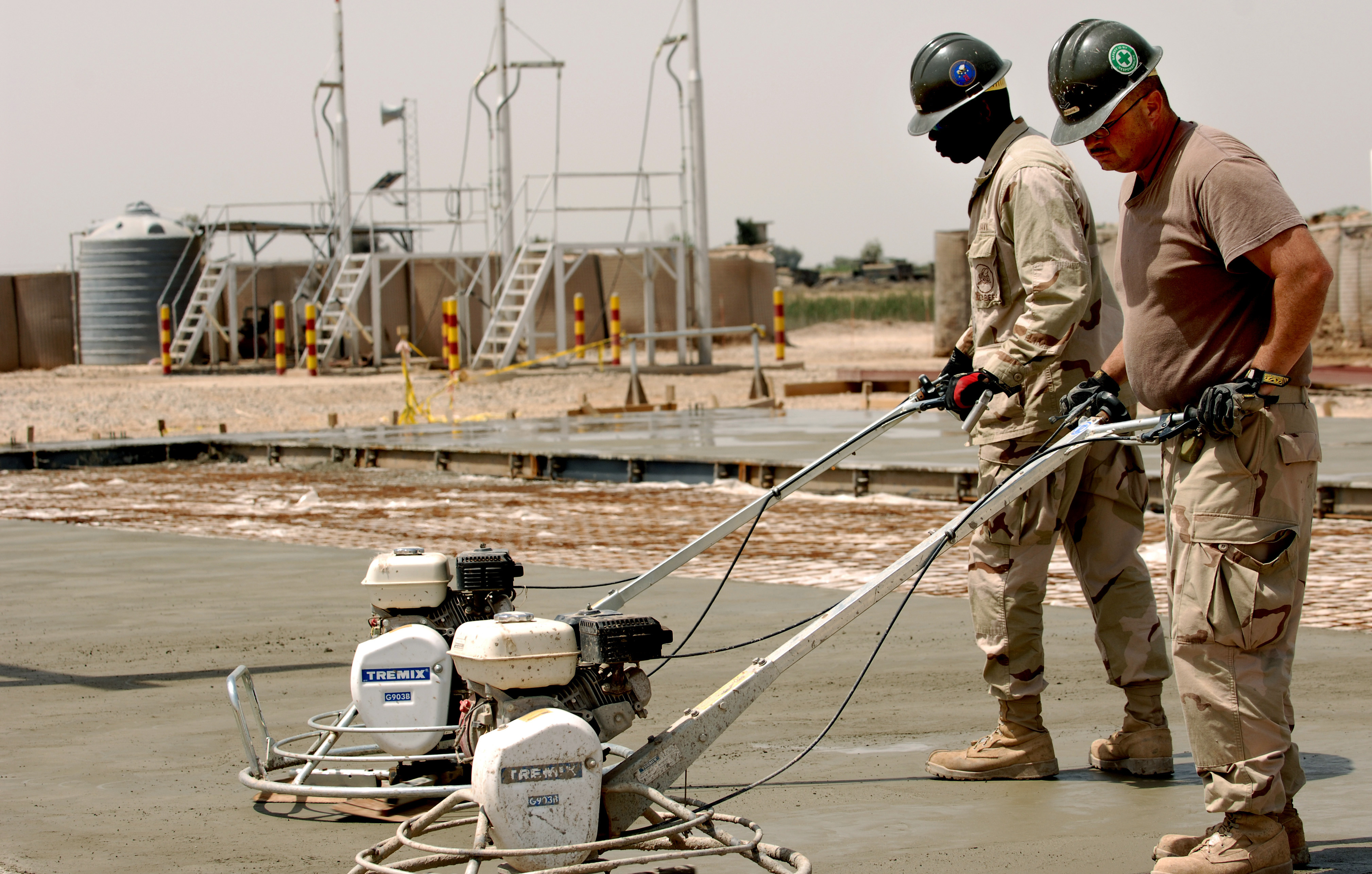 Concrete Foundation Work : File us navy n w seabees from naval mobile
