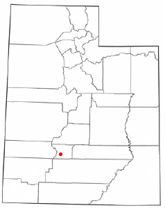 Location of Junction, Utah