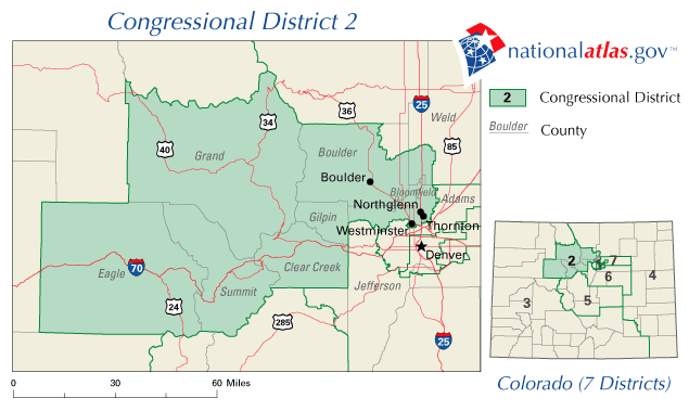 United States Map Colorado