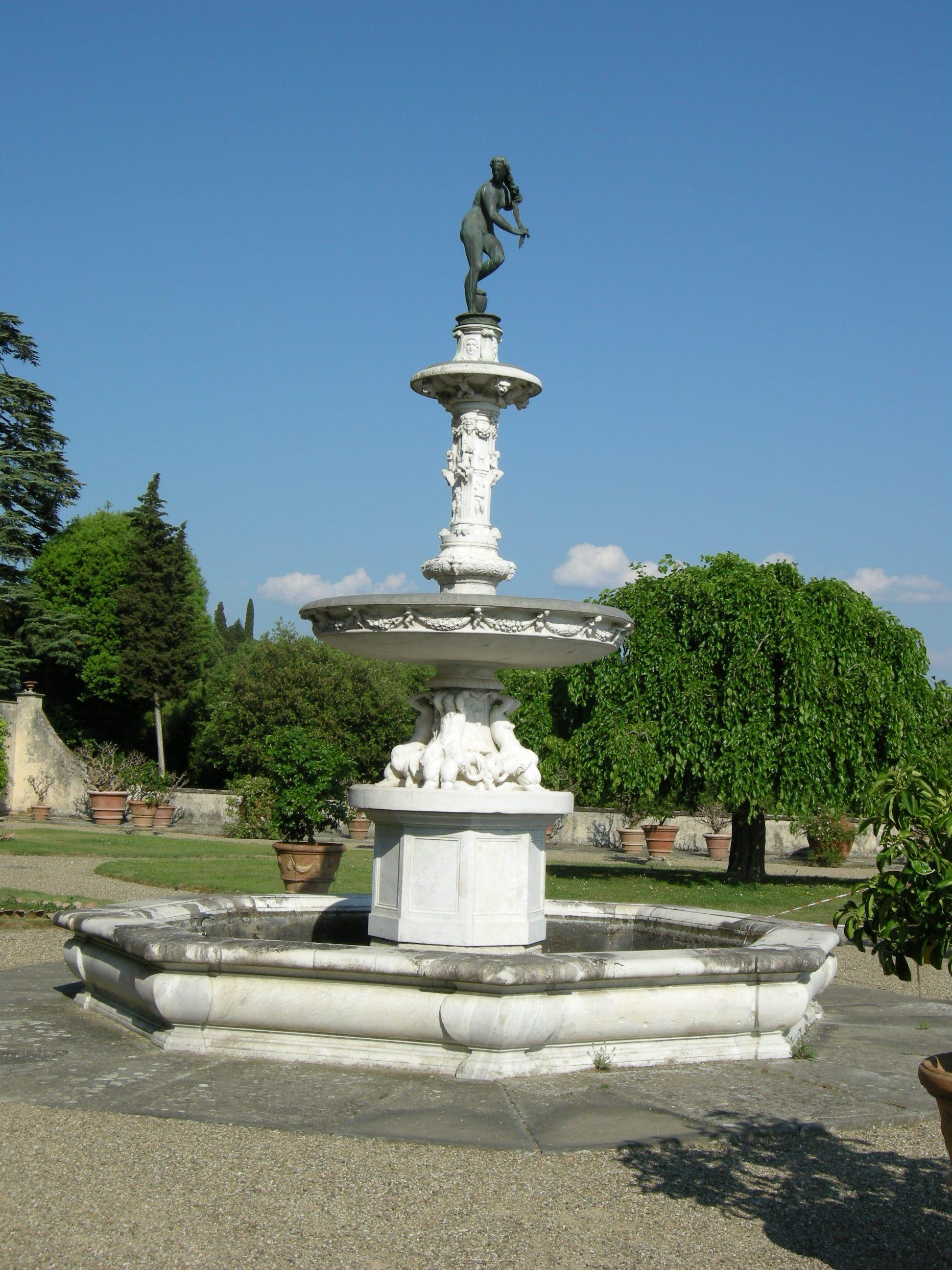 File villa la petraia fontana 01 jpg wikipedia for Villa la petraia
