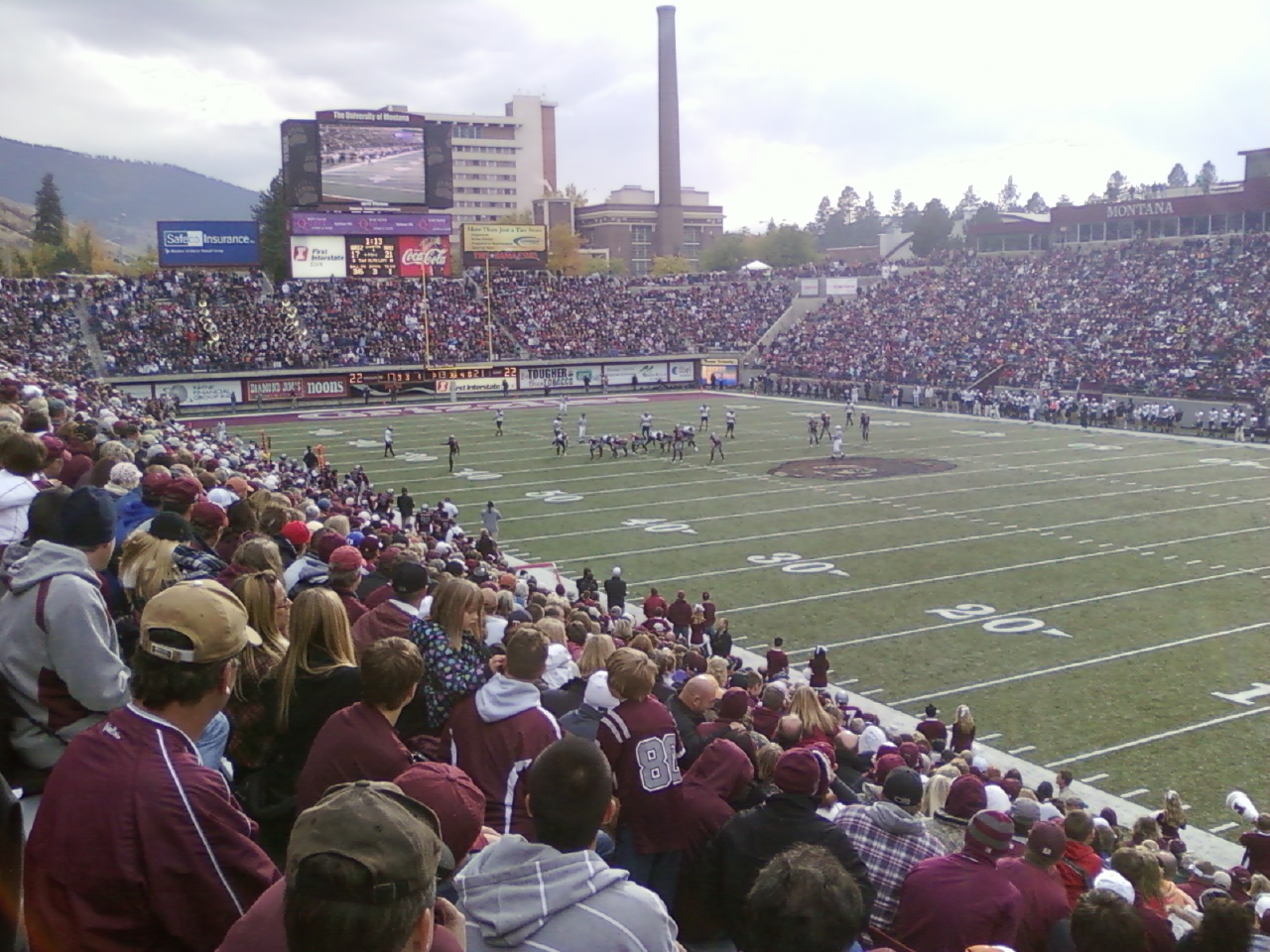 washington-grizzly stadium college stadiums
