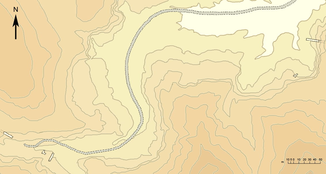 FileWest Valley Of The Kings Sketch Map Topopng Wikimedia - Map of egypt valley of the kings