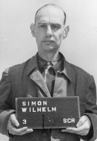 Wilhelm Simon in US custody, 1947
