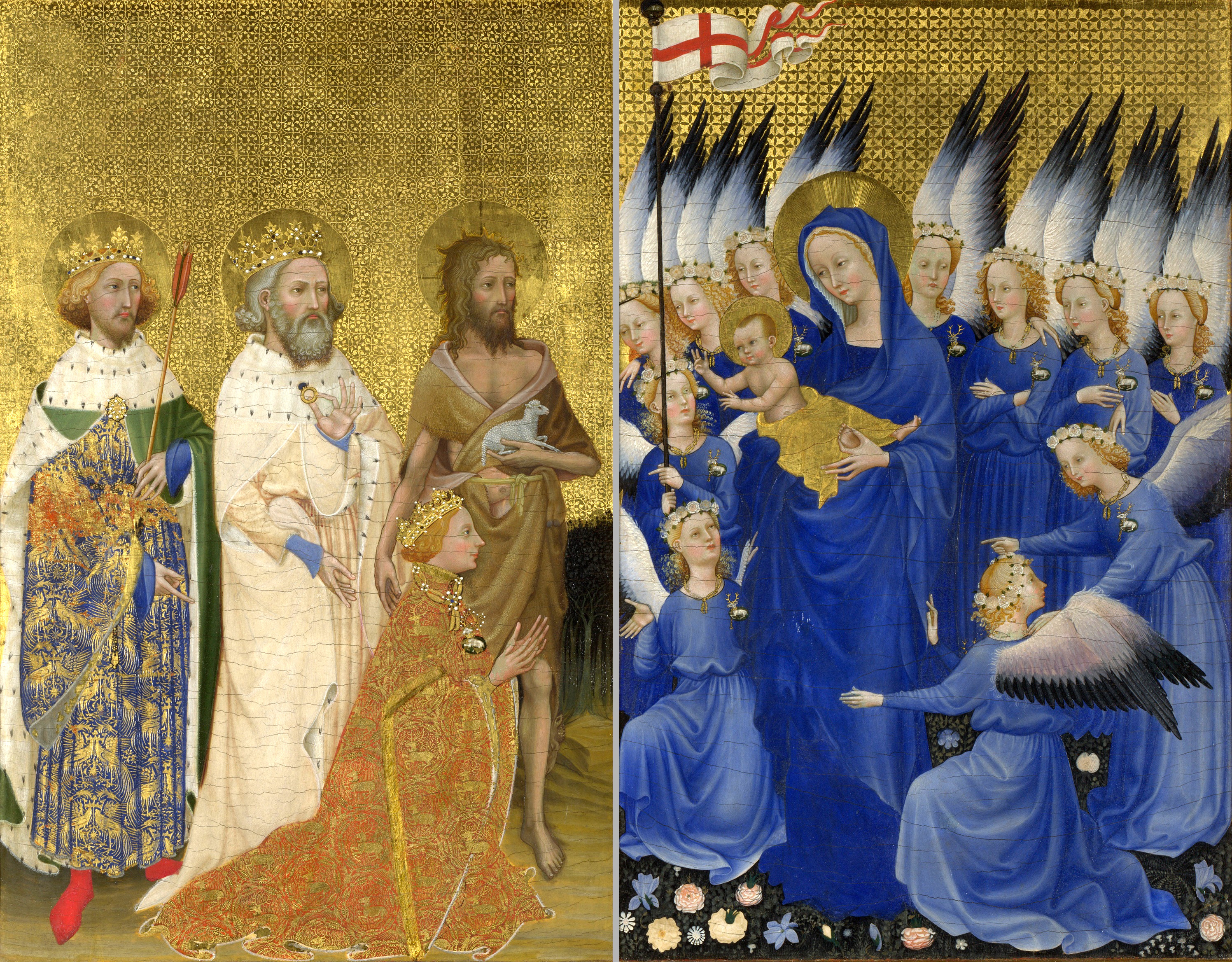 Part Of Art : File wilton diptych g wikipedia