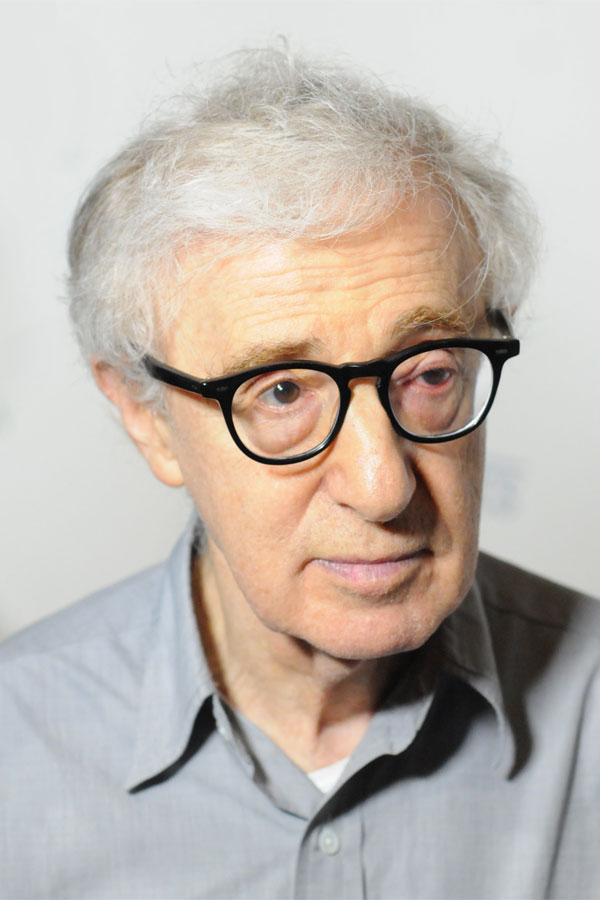 Depiction of Woody Allen