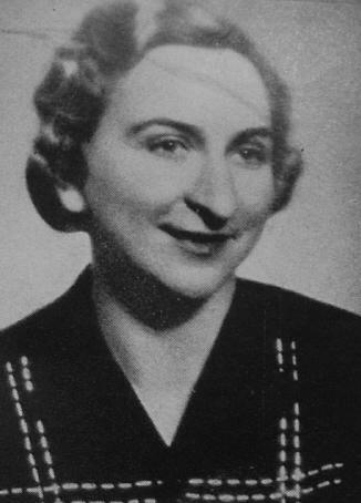 Zdeňka [nee Vondrušková] Bezděková, circa 1940