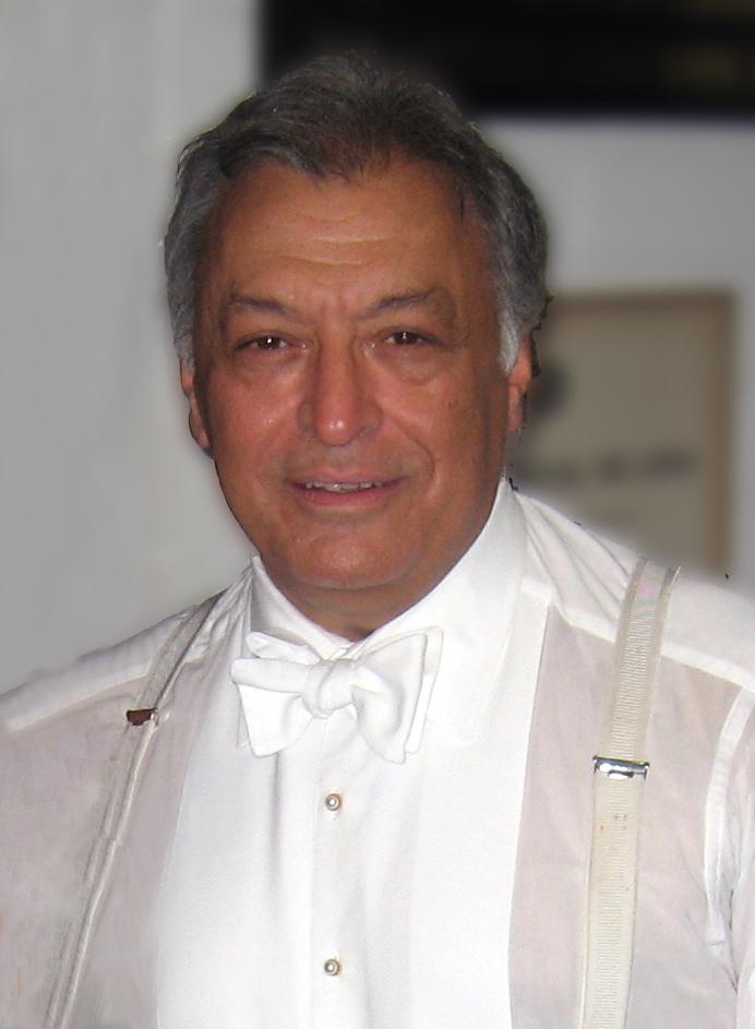 El director de orquesta indio Zubin Mehta.