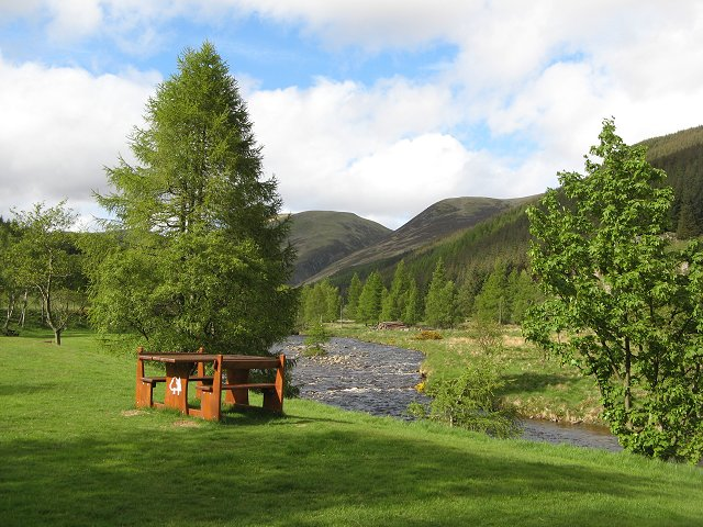 """Glen Doll"" picnic place - geograph.org.uk - 439151"