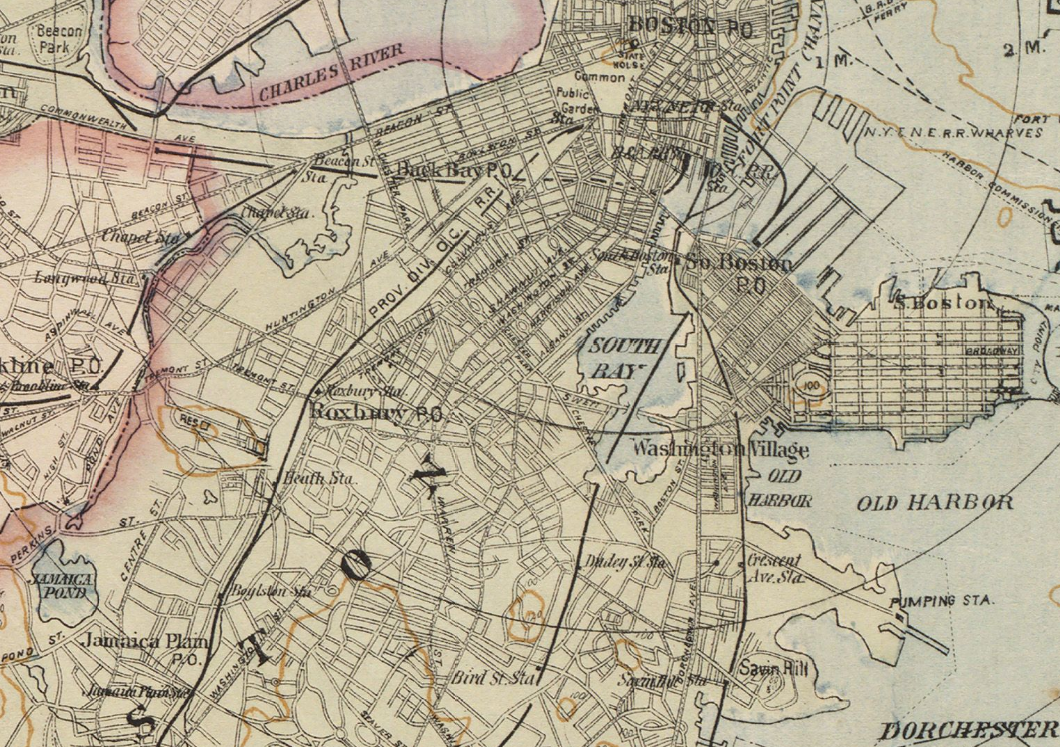 South Boston Map File:1892 SouthBoston Boston map byDamrell and Upham BPL 10736  South Boston Map