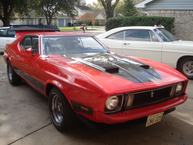 file 1973 ford mustang mach 1 red jpg wikimedia commons. Black Bedroom Furniture Sets. Home Design Ideas