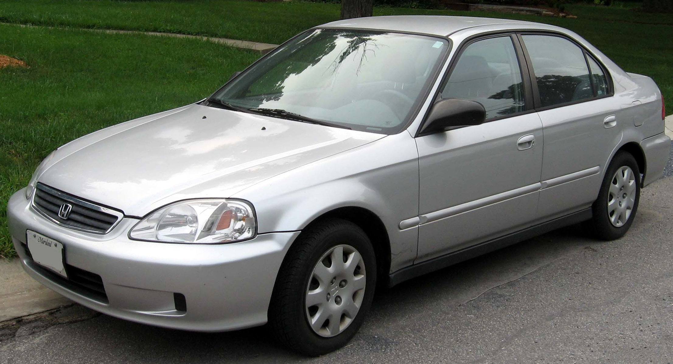 File 1999 00 Honda Civic Sedan Jpg Wikimedia Commons