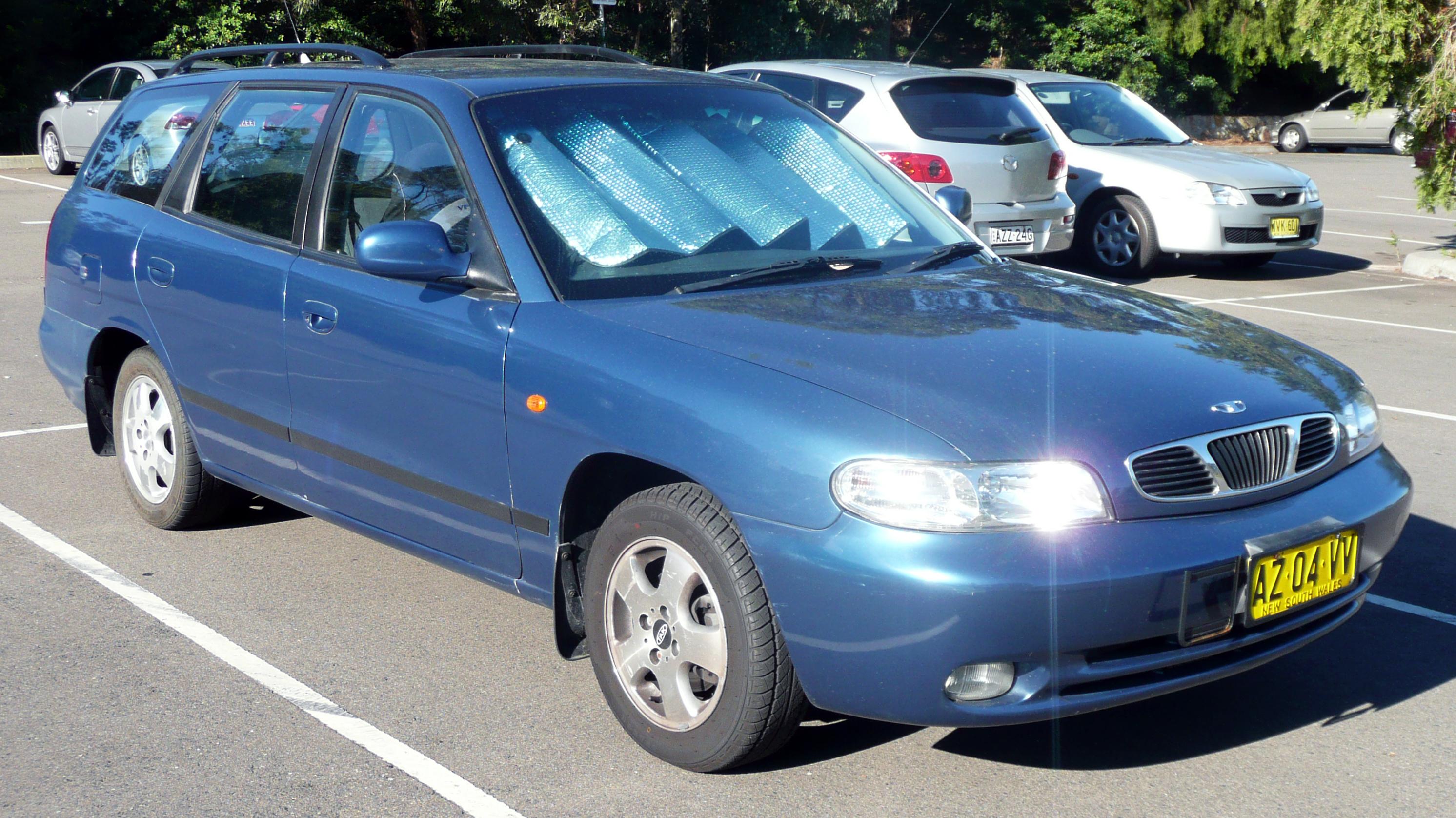 File:1999 Daewoo Nubira (J100) X Series EuroWagon station wagon (2009-