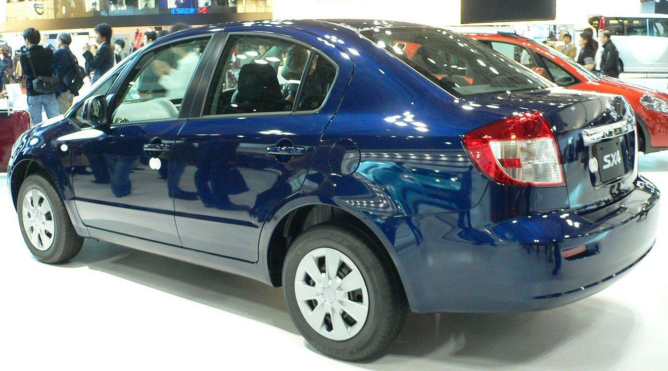 Suzuki Sx Sedan Specifications