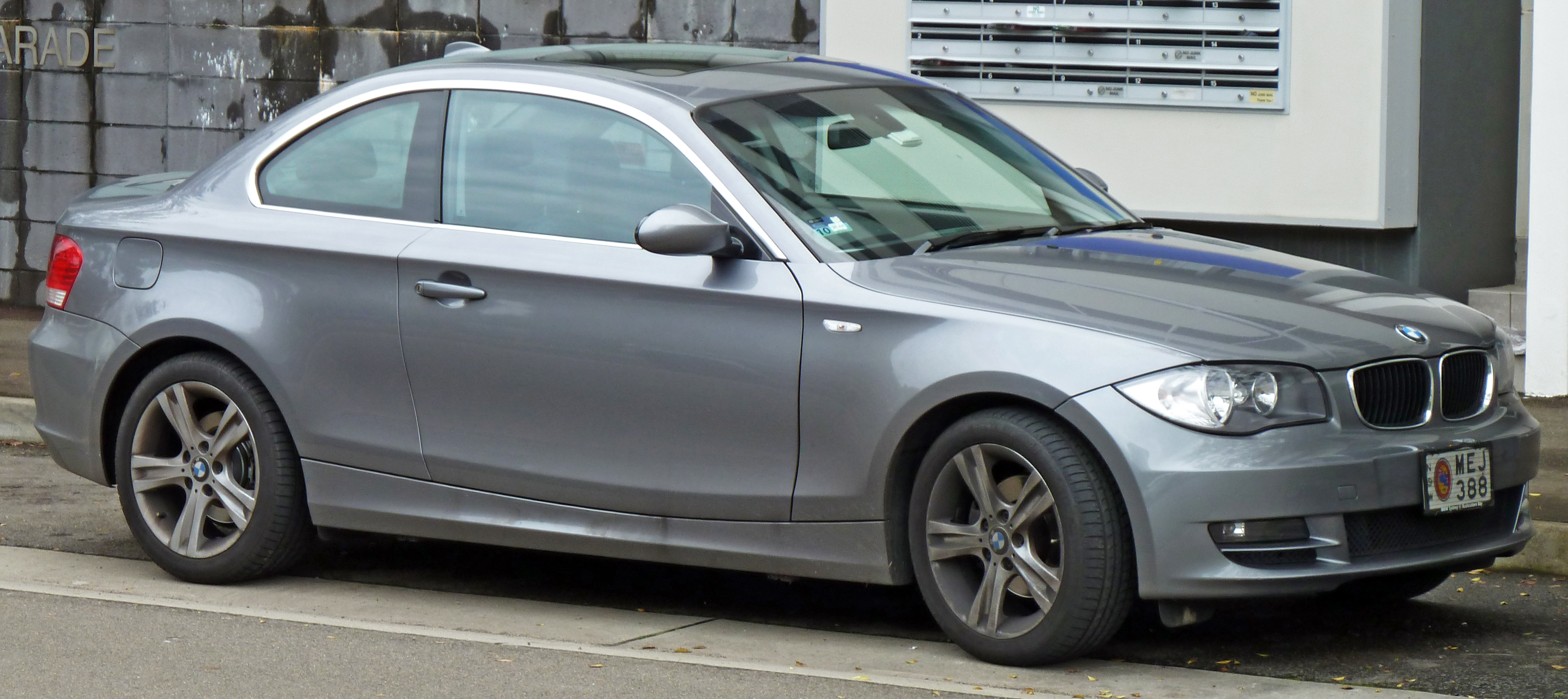 Bmw 125i E82 Coupe