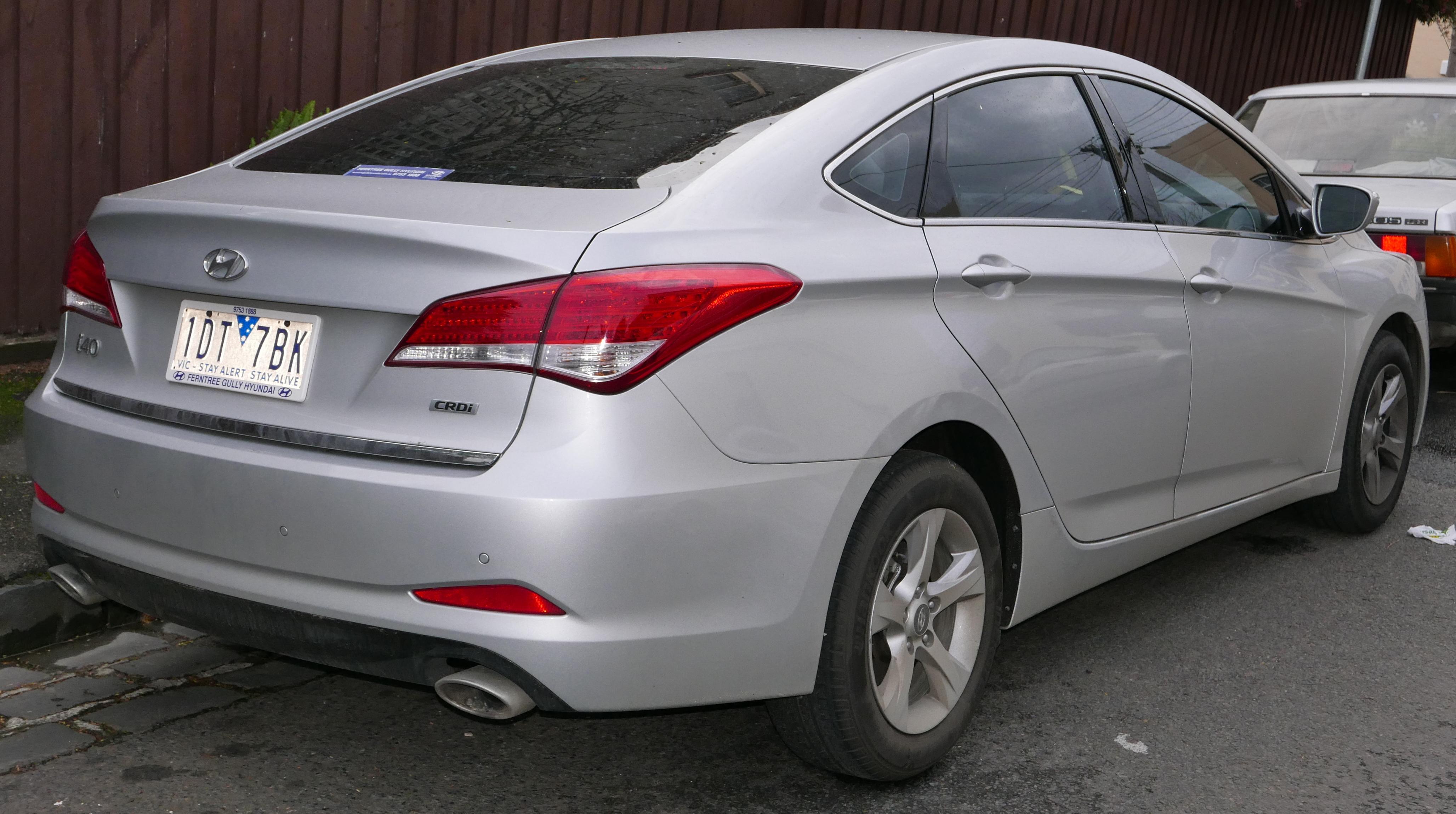 Hyundai I40 Review Autocar Autocar First For Car News