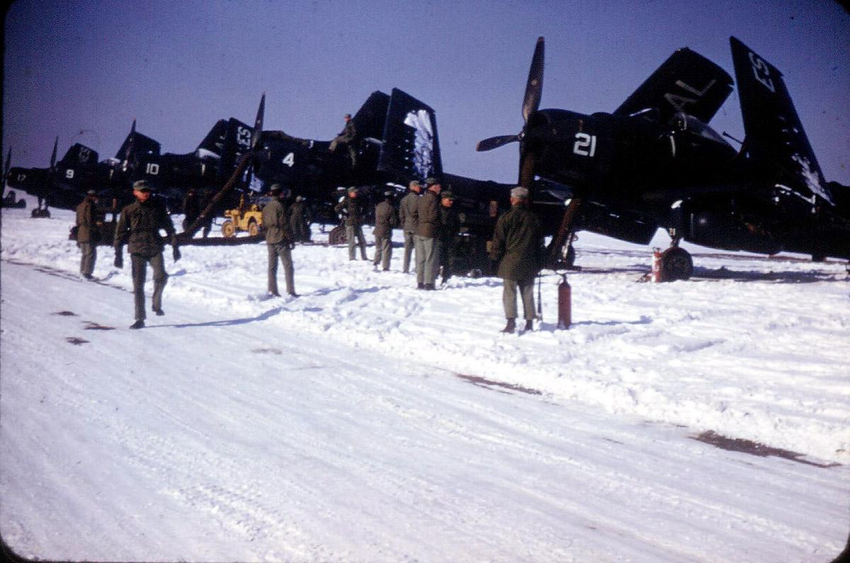 AD-4 VMA-251 Korea 1953-54