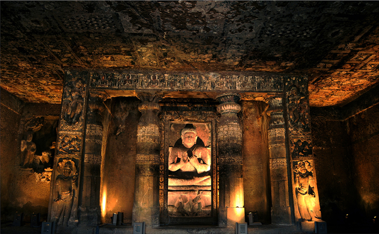 AJANTA CAVES - C.SHELARE (1)