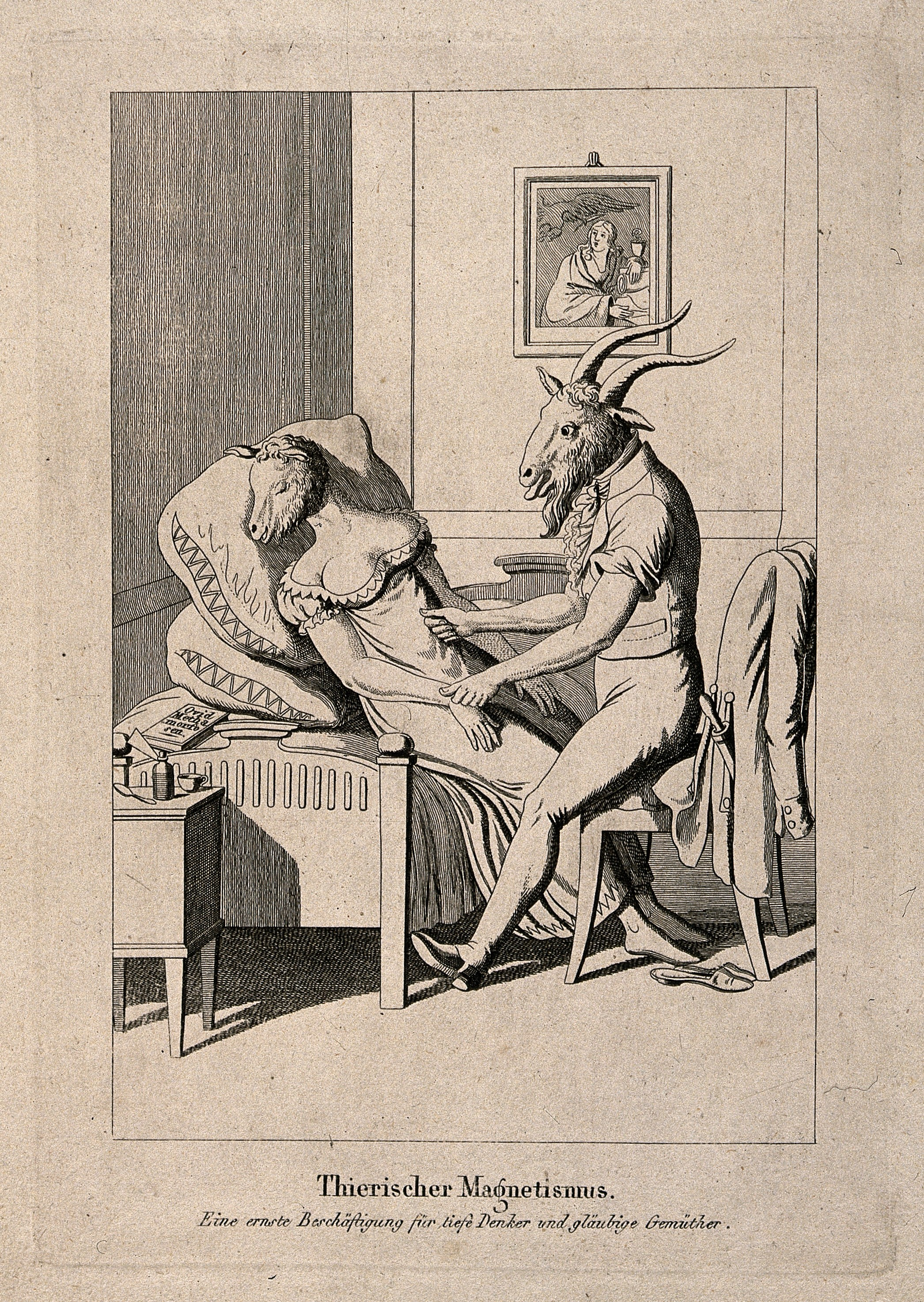 File:A goat-headed man caresses a sleeping ewe-headed ...