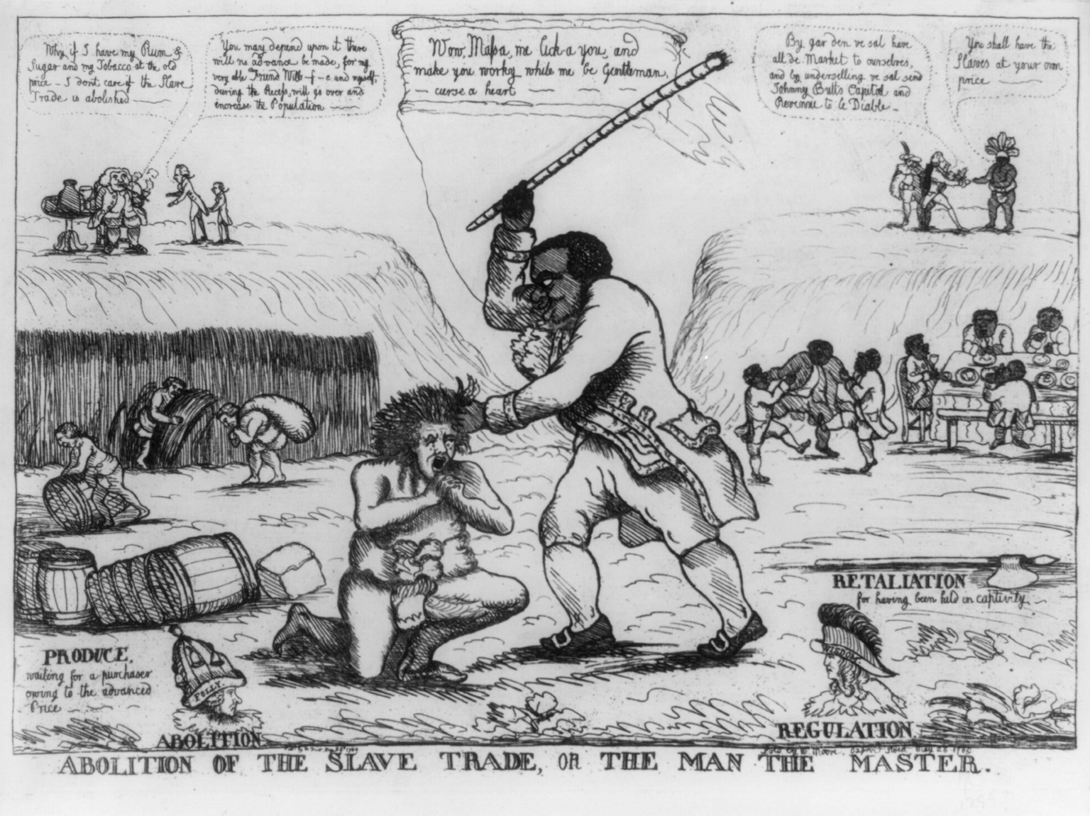 essay on the abolition of the slave trade Long and brutal – the fight for the abolition of the slave trade before it was a vital aspectin upholding the entire western economy, the slave t.