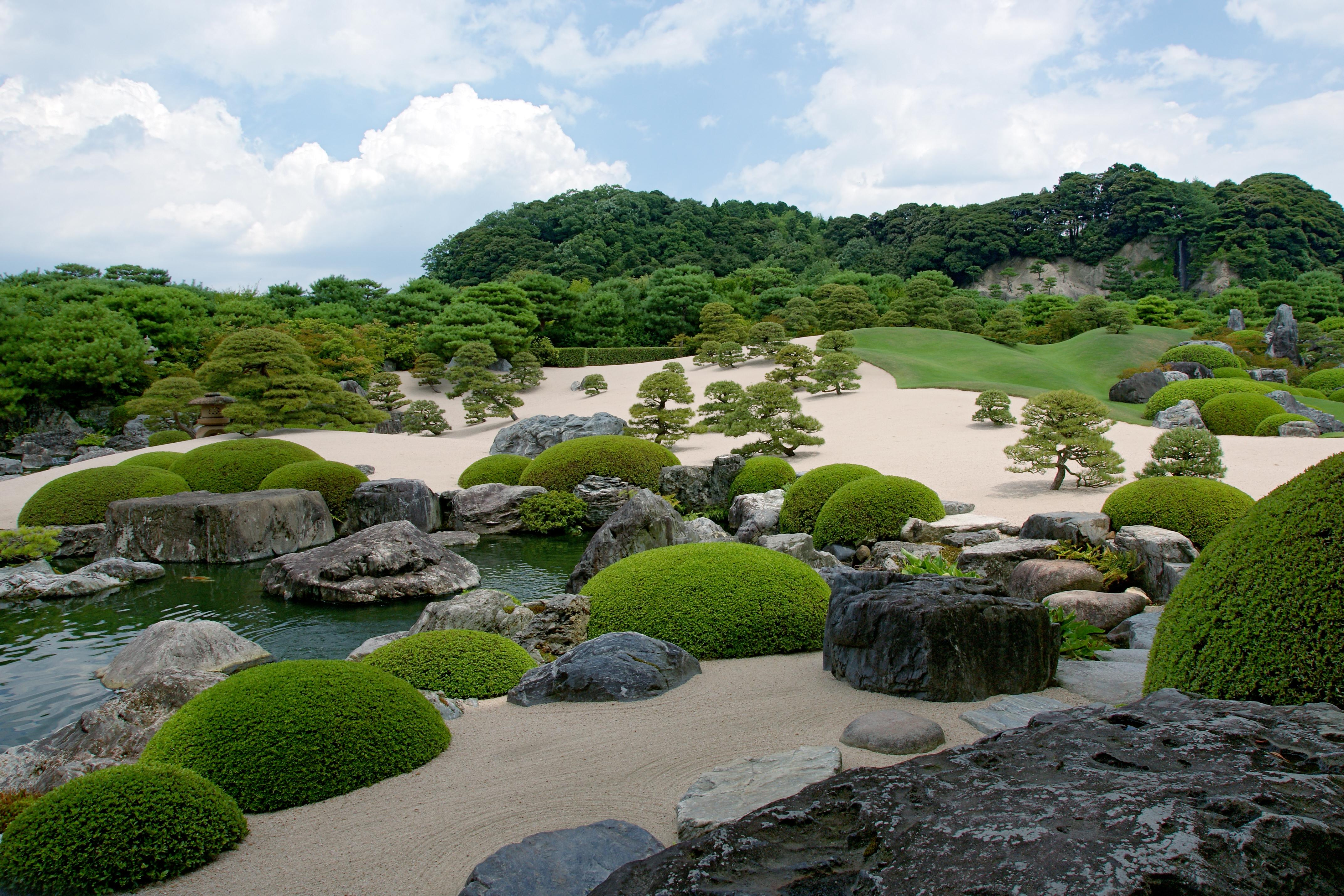 Contemporary Backyard Adachi Museum Of Art In Shimane taiken Japan
