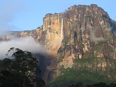 Angel falls-distant view