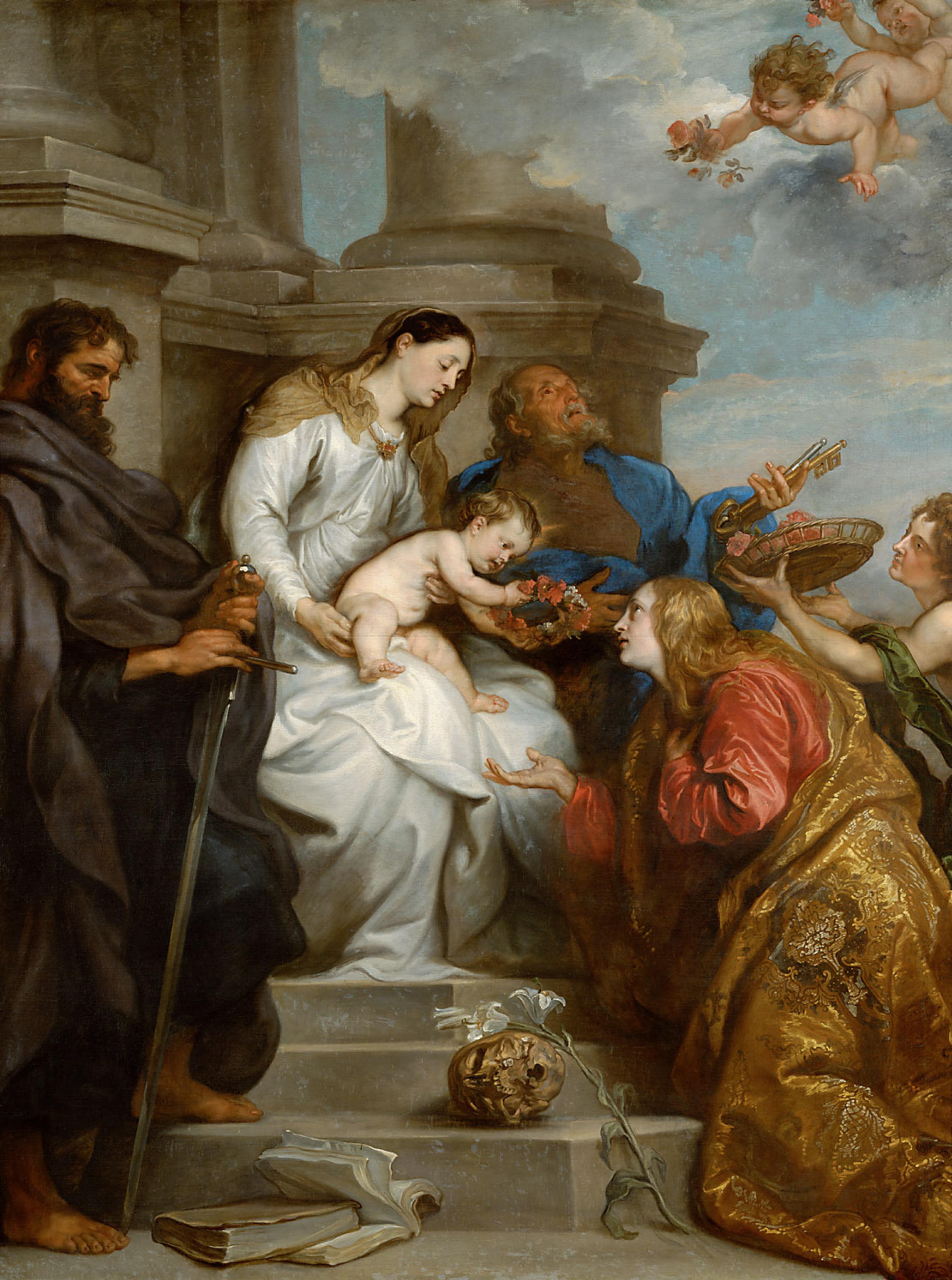 Saints And Angels Oracle Cards: Saint Rosalia