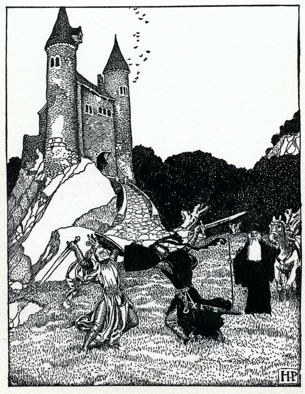 a summary of king arthur and the knights of the round table by howard pyle King arthur and his knights of the round table by roger lancelyn green  of  mine is of dipping into the eerie story of sir lancelot's first quest, and the   eclipsed only by howard pyle's version, and his tales from ancient.