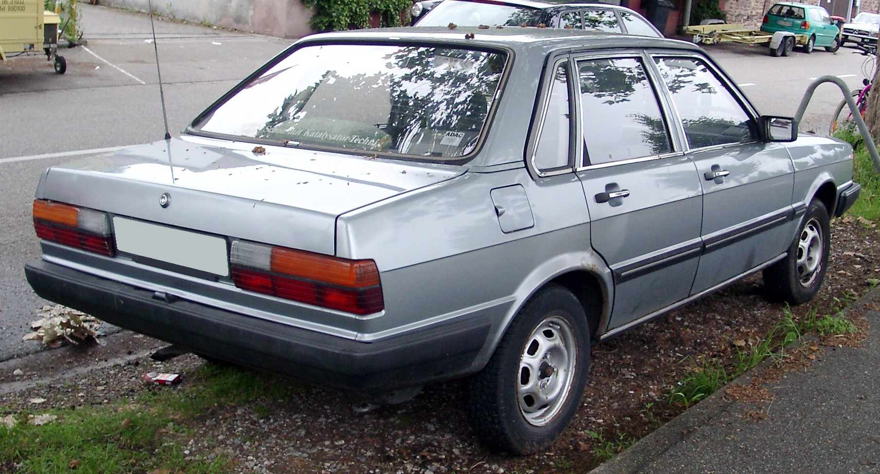 File Audi 80 B2 Rear 20080617 Jpg Wikimedia Commons