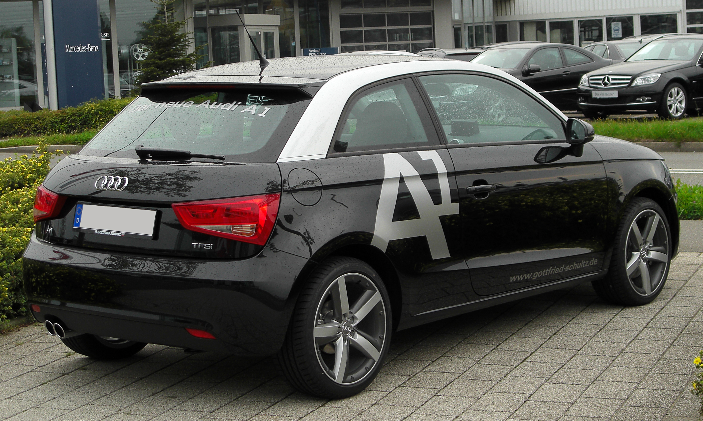 datei audi a1 1 4 tfsi ambition rear 1. Black Bedroom Furniture Sets. Home Design Ideas