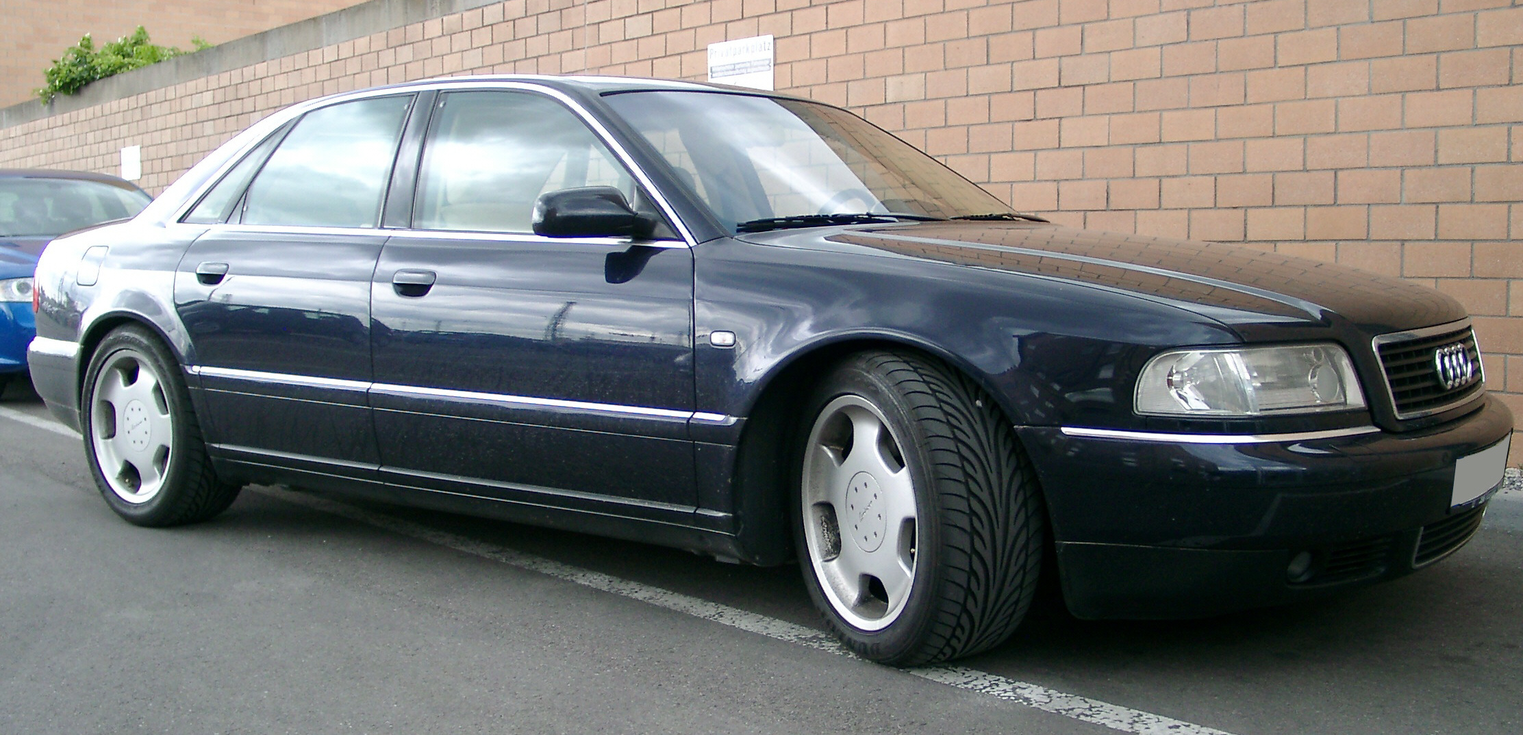 File Audi A8 Front 20070511 Jpg Wikimedia Commons