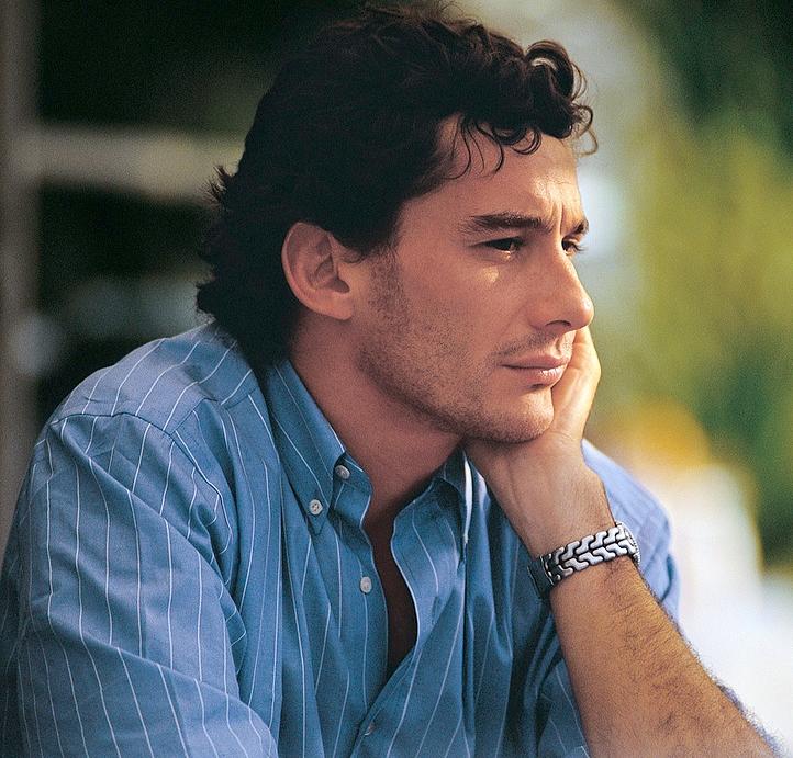 Ritratto di Ayrton Senna