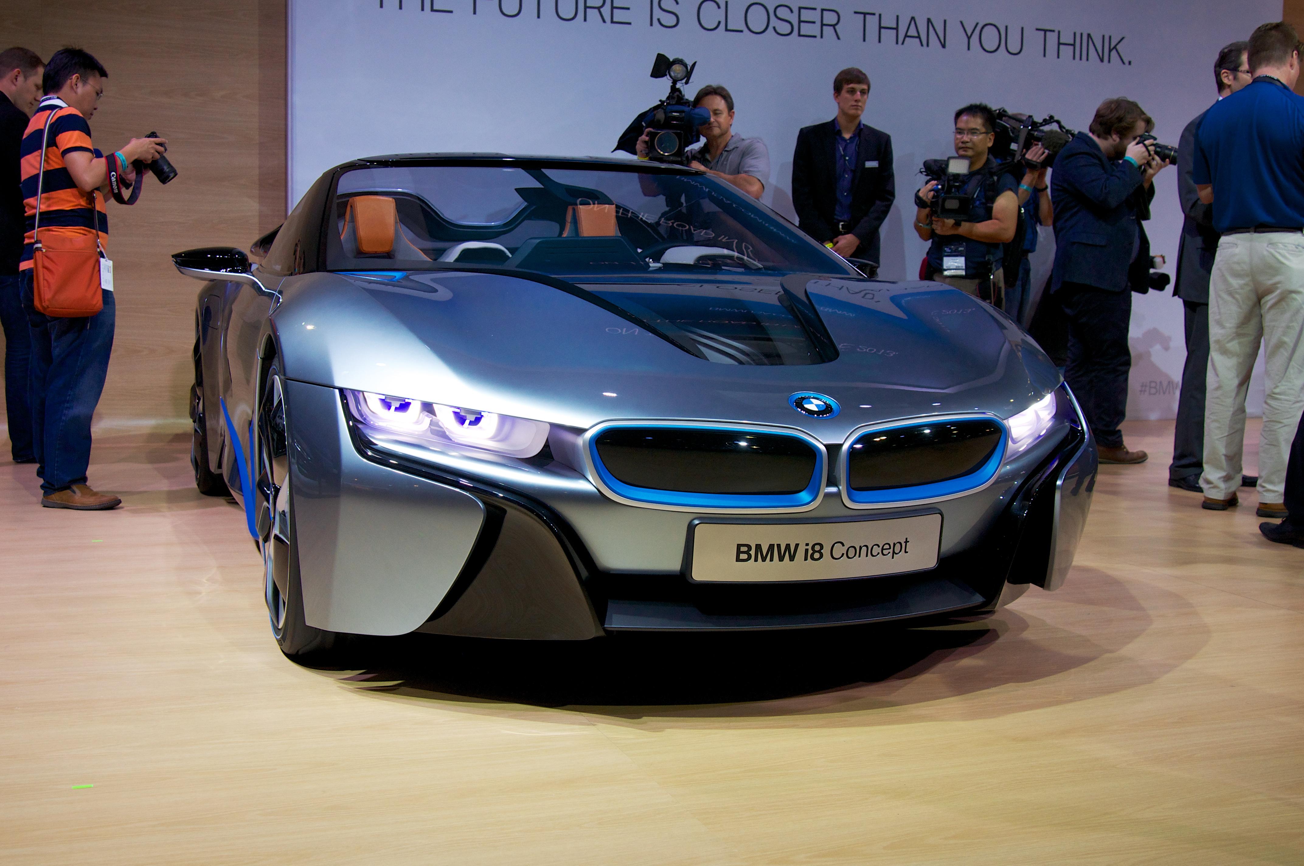 File:BMW i8 Concept 2012 LA Show.jpg - Wikimedia Commons