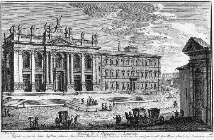 Basilica di S. Giovanni in Laterano - Plate 046 - Giuseppe Vasi.jpg