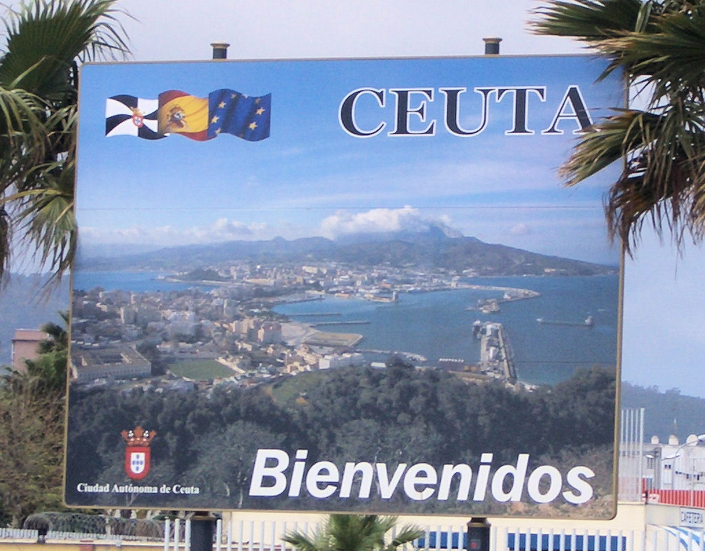 Spain Ceuta Flags of Ceuta Spain And