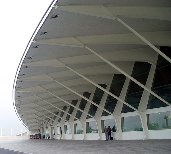 Bilbao Airport wing