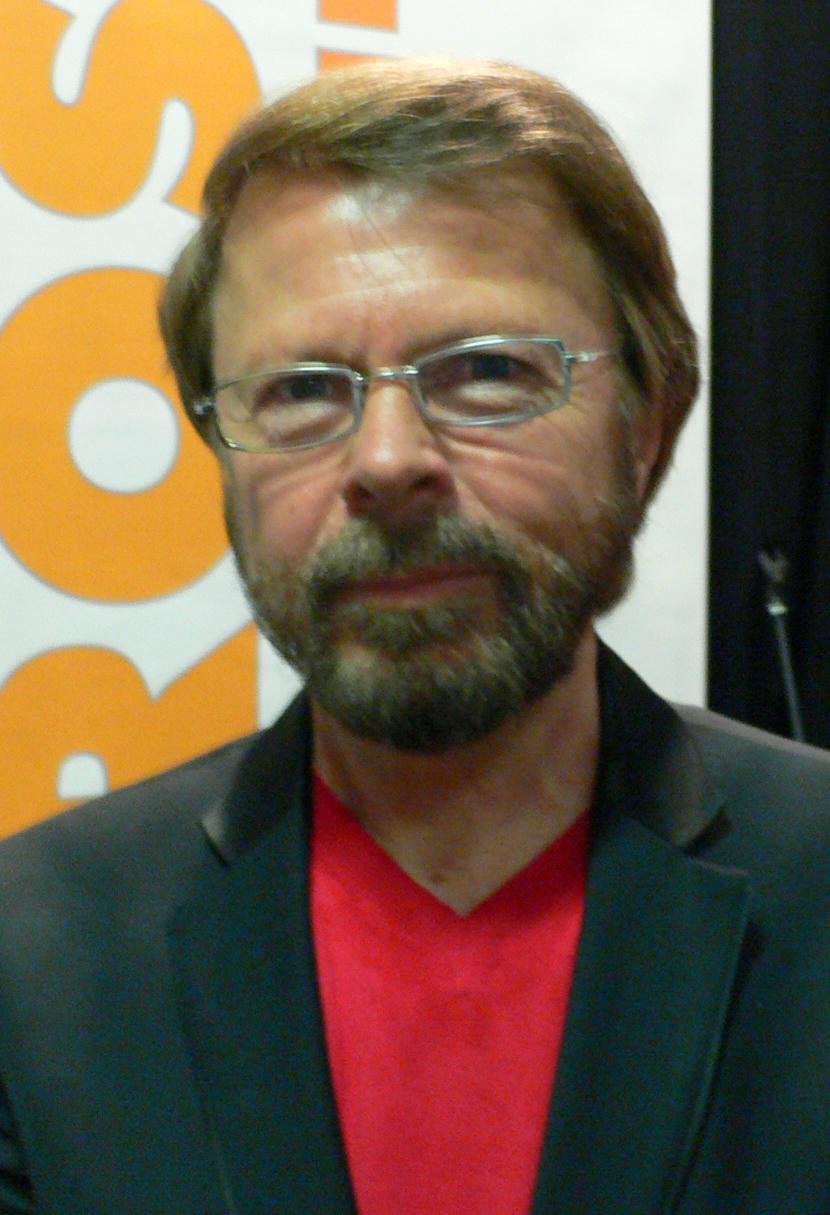 Björn Ulvaeus at Gothenburg Book Fair 2007
